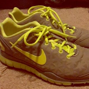 9.5 Nike Training Free Fit II, Good condition